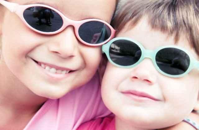 儿童不宜长时间戴太阳镜